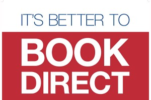 Booking direct is best!